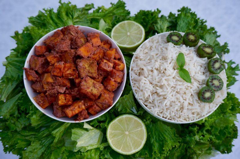 Tofu & Sweet Potato Tandoori Masala